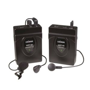 Dorr WRT-80 Wireless Microphone Kit | 60 Meter Range | 2.4 GHz