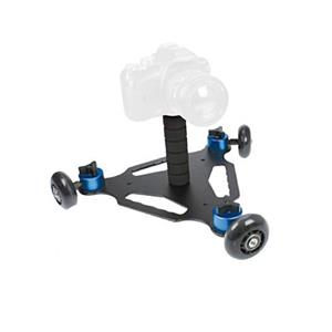 Dorr SD-3 Triangle Skater Dolly | For DSLR and Mirrorless Cameras | 24KG Max Load | 360° View