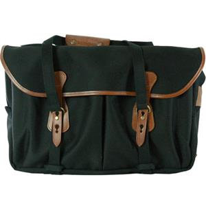 Billingham 555 Black Tan Canvas Camera Bag