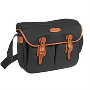 Billingham Hadley Large Black and Tan Canvas Camera Bag
