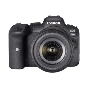 Canon EOS R6 Camera with 24-105mm RF IS STM Lens