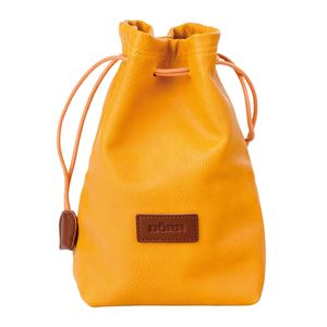 Dorr Skin Camera Case XL Yellow Drawstring Pouch