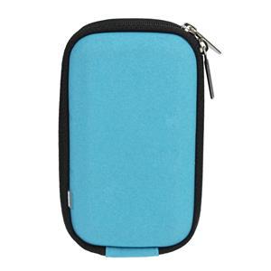 Dorr Turquoise Soft Velvet Camera Pouch
