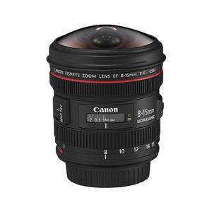 Canon EF 8-15mm f4 L Fisheye USM Lens