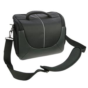 Dorr Yuma Extra Large DSLR Camera Bag - Black and Silver