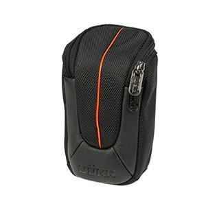Dorr Yuma Small Compact Camera Case - Black and Orange