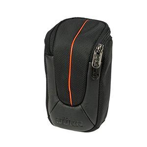 Dorr Yuma Small Compact Camera Case - Black and Orange