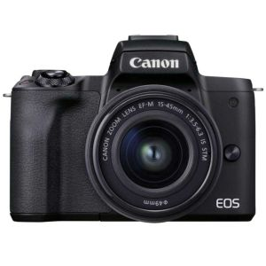 Canon EOS M50 Mark II Camera with 15-45mm Lens