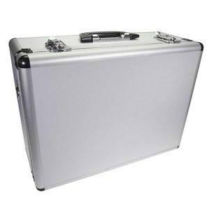 Dorr Silver Video Aluminium Case - 46x34x19cm