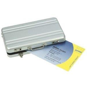 Dorr Silver Business and Memory Card Case