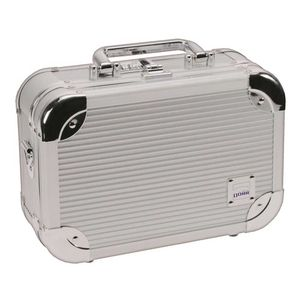 Dorr Extra Small Aluminium Case 10 | 24 x 16 x 9 (cm) | Foam Interior | Combination Lock