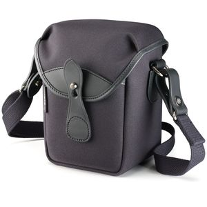 Billingham 72 Black Fibrenyte and Black Leather Camera Bag