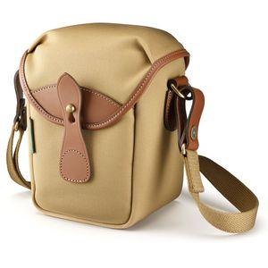 Billingham 72 Khaki Canvas and Tan Leather Camera Bag