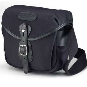 Billingham Hadley Digital Shoulder Bag - Black FibreNyte Black Leather