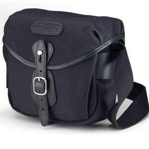 Billingham Hadley Digital Shoulder Bag - Black FibreNyte Black Leather