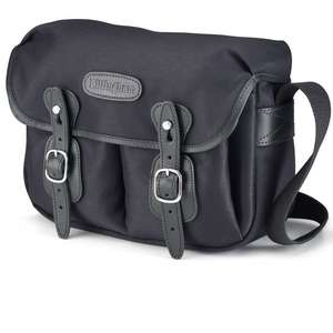 Billingham Hadley Small Shoulder Bag - Black FibreNyte Black Leather