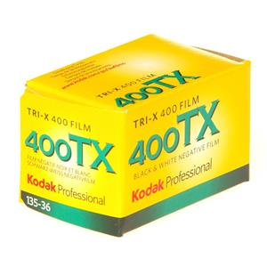 Kodak Professional Tri-X ISO 400 36 Exp Black and White 35mm Print Film