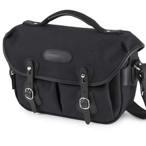 Billingham Hadley Small Pro Shoulder Bag - Black FibreNyte Black Leather