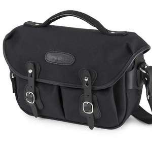 Billingham Hadley Small Pro Shoulder Bag - Black FibreNyte Black Leather