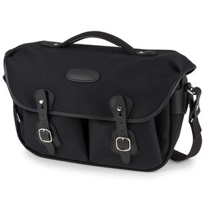 Billingham Hadley Pro 2020 Shoulder Bag | Black FibreNyte & Black Leather