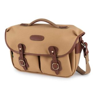 Billingham Hadley Pro 2020 Shoulder Bag | Khaki Canvas & Tan Leather