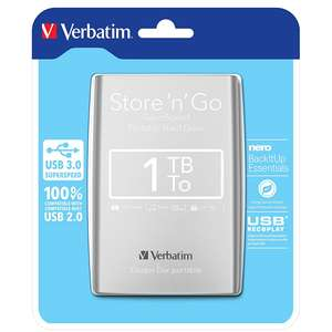 Verbatim Store n Go SuperSpeed Portable 1TB Hard Drive