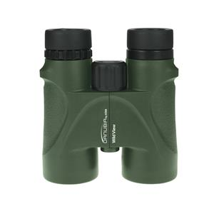 Danubia WildView Green 8x42 Roof Prism Binoculars | 8x Magnification | Waterproof | Multicoated Lens