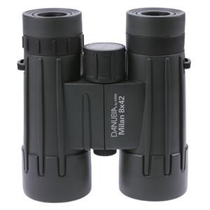 Danubia Milan 8x42 Roof Prism Binoculars | Rubber Armoured | Waterproof | Fog Proof