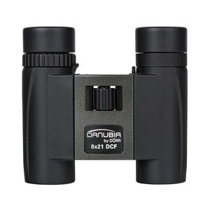Danubia 40 Black and Grey Pocket Binoculars | 8x21 | Multicoated | 8x Magnification