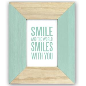 Candy Green Wooden 6x4 Photo Frame