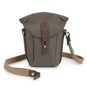 Billingham Galbin 10 Binocular Case | 1.9L Capacity | Sage FibreNyte & Chocolate Leather