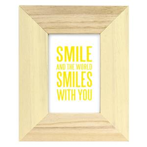 Candy Cream Wooden 7x5 Photo Frame