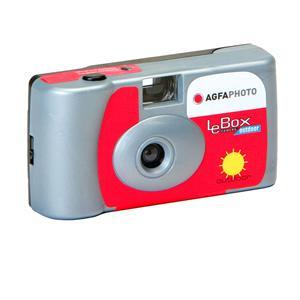 LeBox Disposable Camera for 27 Photos - Outdoor 400 ISO