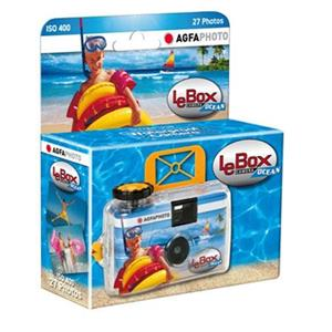 LeBox Waterproof Disposable Camera for 27 Photos - ISO 400