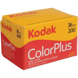 Kodak ColorPlus 200 ISO 36 Exp 35mm Colour Print Film