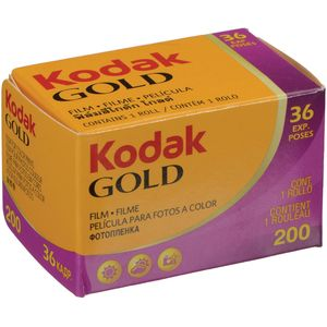 Kodak Gold 200 ISO 36 Exp 35mm Colour Print Film