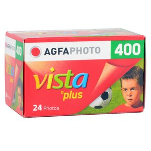 AgfaPhoto Vista Plus ISO 400 24 Exp 35mm Colour Print Film