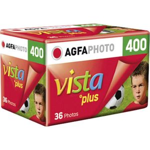 AgfaPhoto Vista Plus ISO 400 36 Exp 35mm Colour Print Film