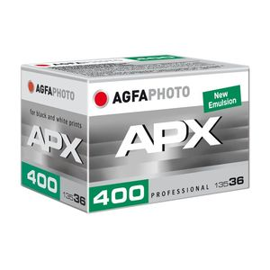AgfaPhoto APX ISO 400 36 Exp 35mm Black and White Print Film