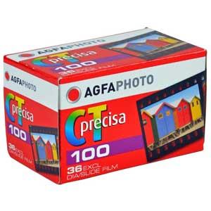 AgfaPhoto CT Precisa ISO 100 36 Exp 35mm Slide Film