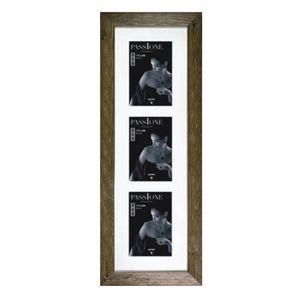Dorr Driftwood Brown 6x4 Triple Photo Frame