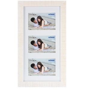 Indiana Horizontal White Gallery Frame for 3 6x4 Photos