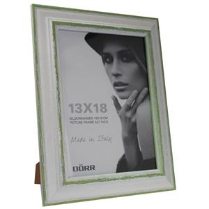 Dorr Rustico Green Wood 7x5 Photo Frame