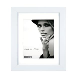 Dorr Bloc White 16x12 inches Wood Photo Frame with 12x8 inch insert