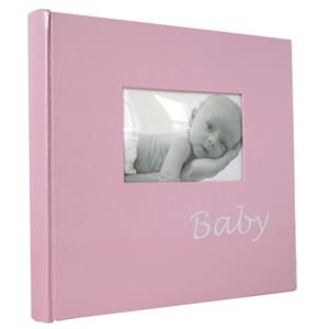 Baby Pink Traditional Photo Album - 60 Sides Overall Size 9.75
