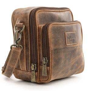 Gillis Trafalgar Hands Free Leather Camera Bag