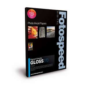 Fotospeed Pigment Friendly Gloss 270 Photo Paper - 6x4 - 100 Sheets