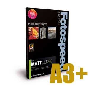 Fotospeed Matt Ultra 240 Photo Paper - A3+ - 50 Sheets
