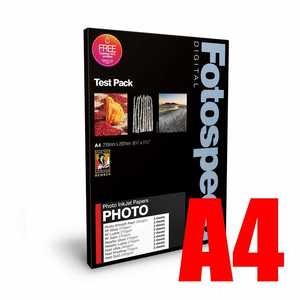 Fotospeed Photo Quality Test Pack Photo Paper - A4 - 16 Sheets