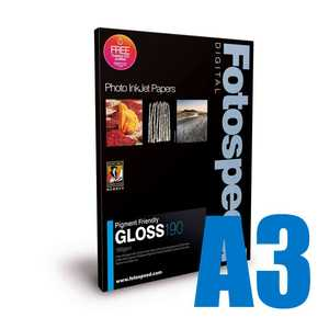 Fotospeed Pigment Friendly 190 Photo Paper - A3 - 50 Sheets